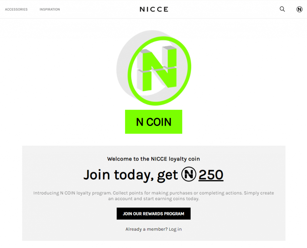 NICCE's Loyalty Program