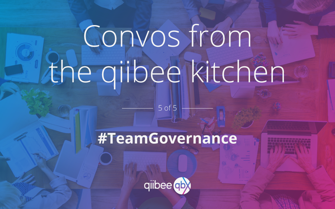 Convos from the qiibee Kitchen #5 — CEO Edition
