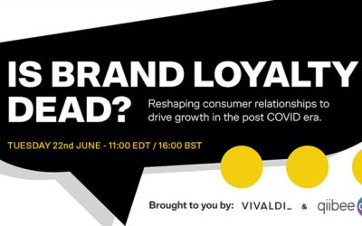qiibee x Vivaldi: Is Brand Loyalty Dead?