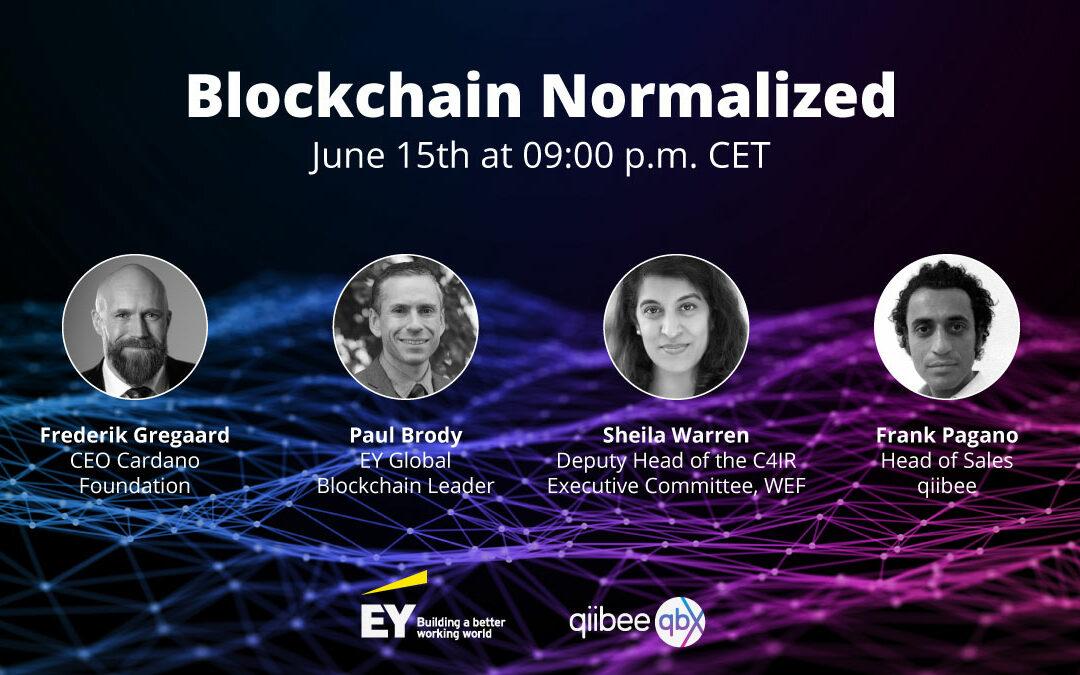 qiibee x EY – Blockchain Normalized Webinar